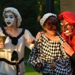 commedia mask theater actors
