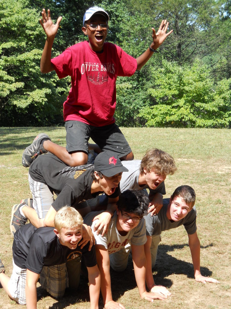 summer camp pyramid