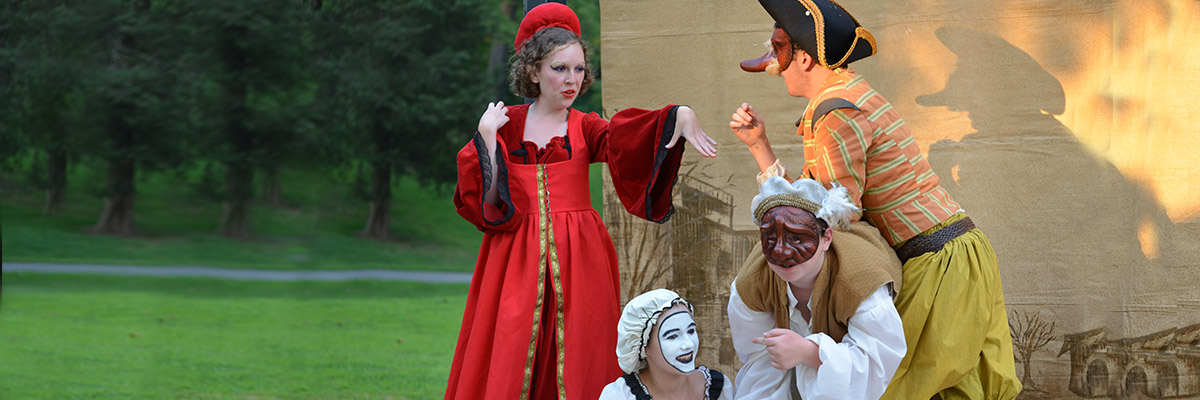 high school drama camp for commedia dell'arte