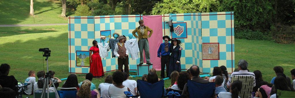 outdoor shakespeare theater tech