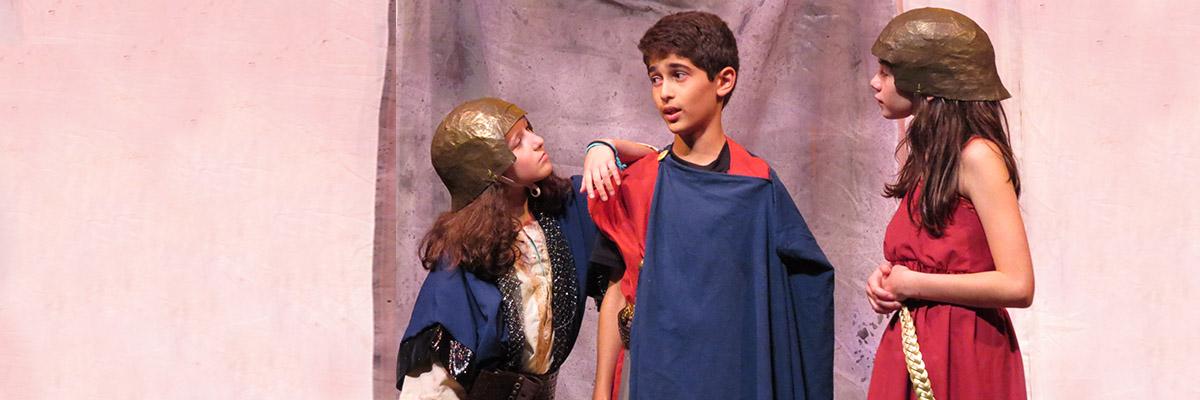 Greek Myths Ensemble - Camp Program (4th - 6th Graders)   TPE