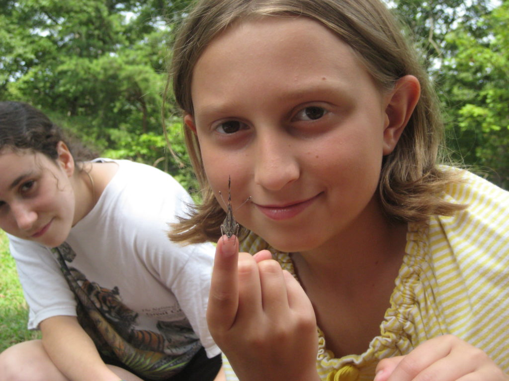theater camp experiencing nature