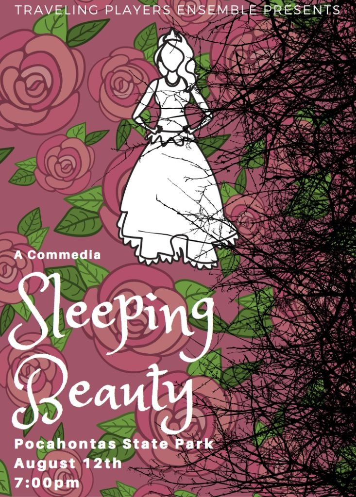 Sleeping Beauty performance at Pocahontas State Park