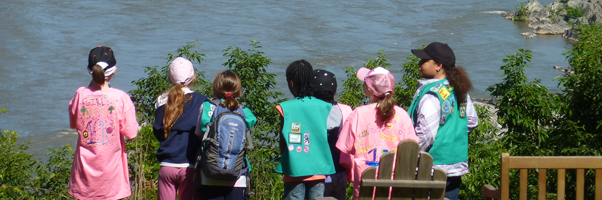 school year weekend girl scout program