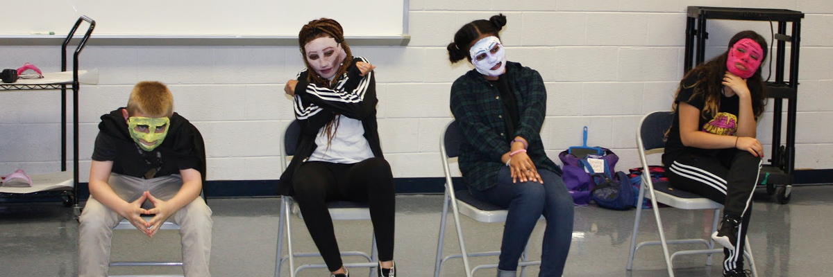 school residency masterclass in character mask