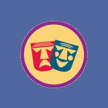 theatre badge